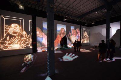 """Últimos días de """"Da Vinci Experience"""", la muestra que recorre la vida y obra del artista italiano"""