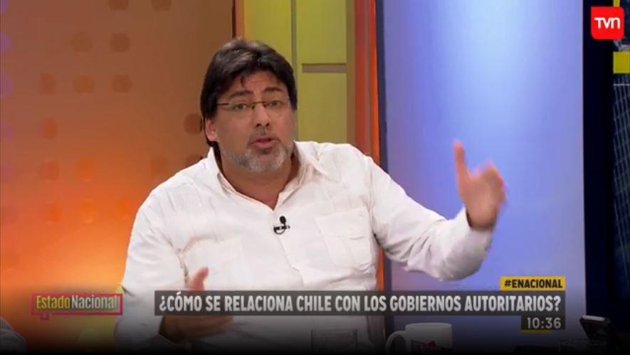 """""""El duro cruce entre Daniel Jadue y Gonzalo Müller en Estado Nacional"""""""