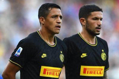 Doblete y expulsión: el polémico debut de Alexis Sánchez como titular en el Inter de Milán