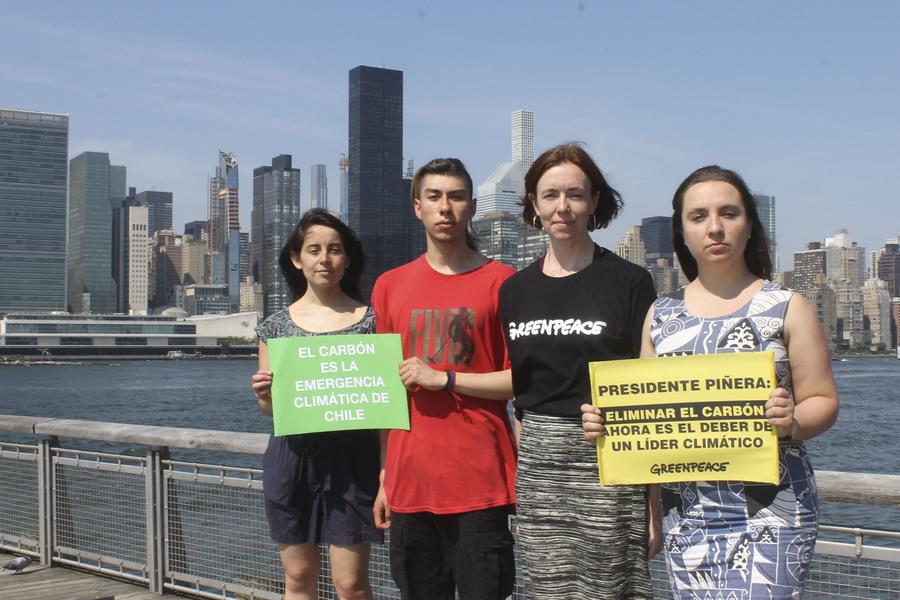 Agrupaciones ambientalistas critican discurso de Piñera en la ONU