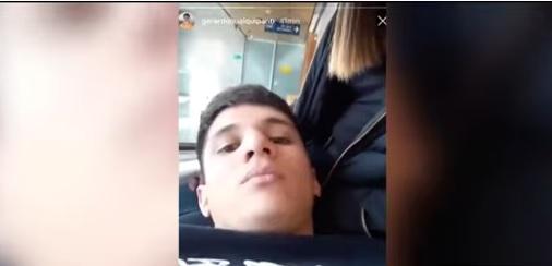 El polémico video del hijo de Huaiquipán en tribunales