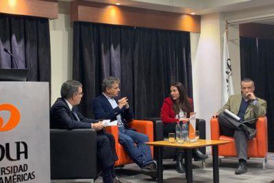 Transformación productiva y crecimiento: la discusión que congregó a Andrés Velasco y Óscar Landerretche en la UDLA