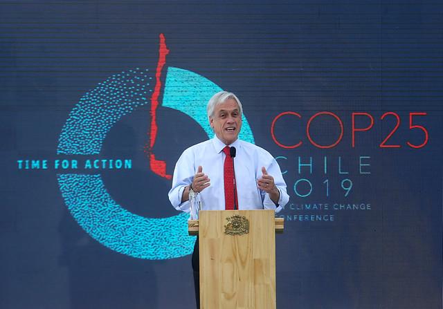 Cuánto ha cumplido Piñera de su programa en medio ambiente