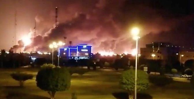 Ataque a petrolera en Arabia Saudita: Trump asegura estar listo para responder al atentado