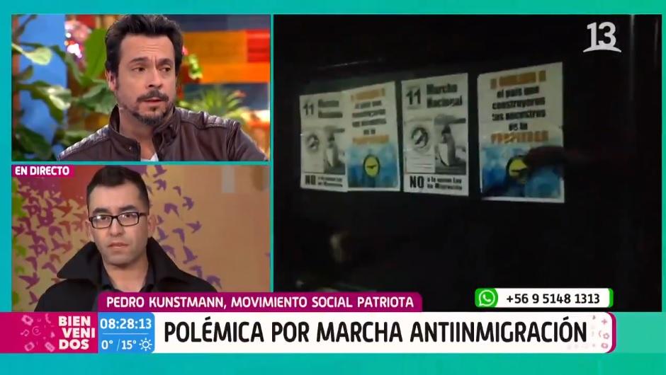 Bienvenidos fue lo más denunciado al CNTV por entrevista a Movimiento Social Patriota