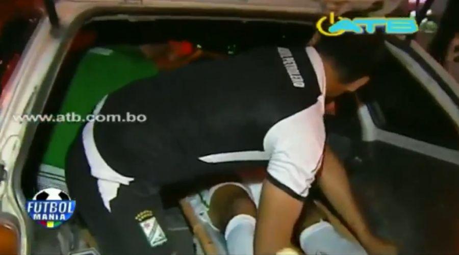 Futbolista tuvo que ser trasladado en taxi por falta de ambulancia