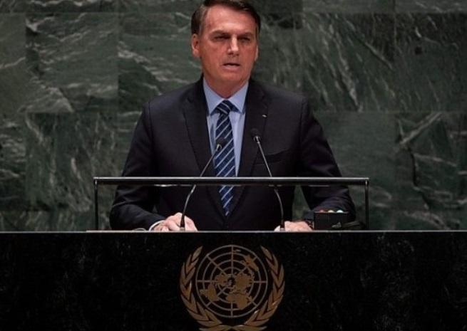 Jair Bolsonaro en la ONU: