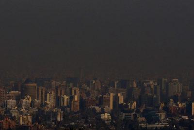 Disminuyen alertas ambientales y episodios críticos de contaminación en la Región Metropolitana