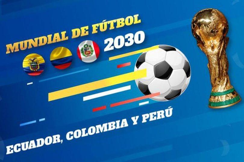 El mundial de los que sobran: esto es lo que ofrecen Ecuador, Perú y Colombia para 2030