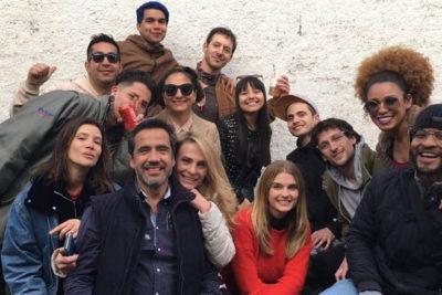 """FOTO  """"Estamos en el año 2019…"""": actor de Canal 13 responde a quienes lo criticaron por maquillarse"""