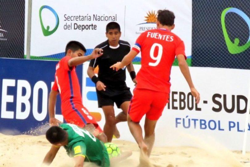 Chile postula para ser sede del Mundial de Fútbol Playa en 2021