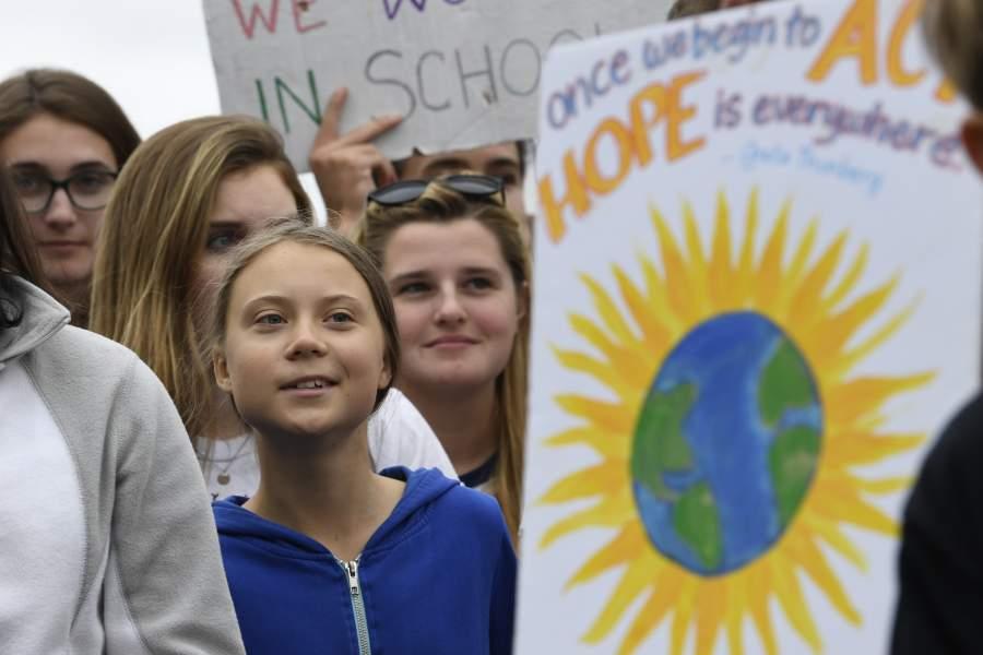 """Greta Thunberg en la ONU: """"Millones de personas marcharon en el mundo por el cambio climático"""""""