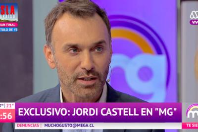 """Jordi Castell: """"No puede ser que en 2019 alguien se tome la libertad de tratarme de degenerado"""""""