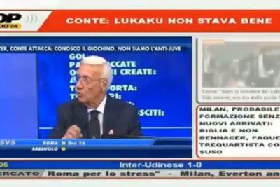 Comentarista deportivo italiano fue despedido por comentario racista contra Lukaku