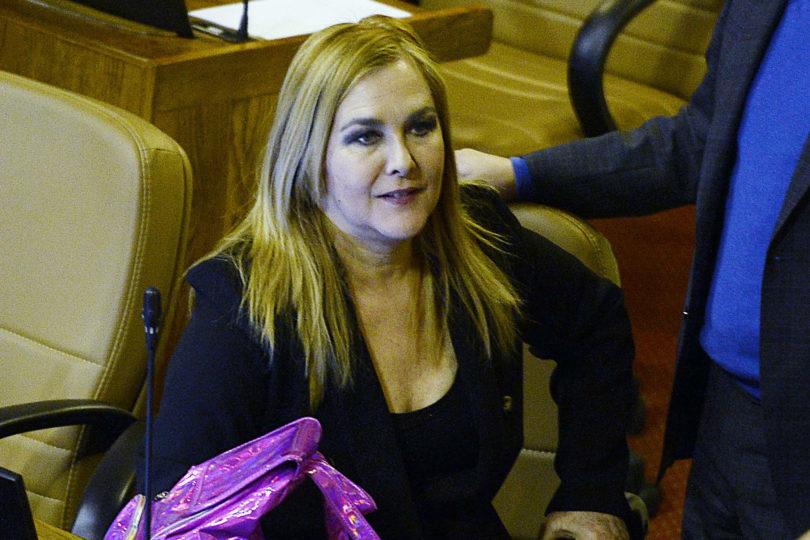 La defensa de Pamela Jiles a foto de Cathy Barriga