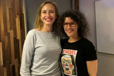 """Documentalista Joanna Reposi: """"Lemebel siempre quiso estar en el cine"""""""