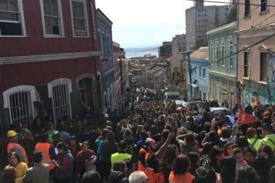 El recuento de la Onemi tras simulacro de tsunami en Valparaíso