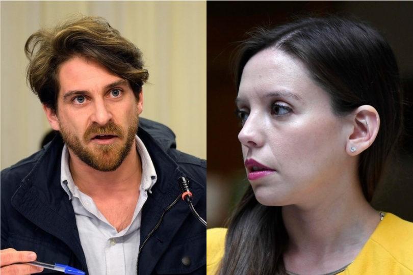 """VIDEO  """"Si no, ¿para qué me invitan?"""": el tenso cruce de Camila Flores y Gonzalo Winter en Bienvenidos"""