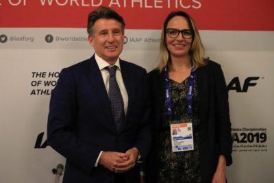 Ximena Restrepo es la primera mujer en ocupar la vicepresidencia de la IAAF