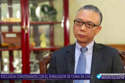 """Xu Bu vuelve a referirse a polémica con Bellolio: """"Cuando un diputado viola el principio de una sola China, tengo que contestar"""""""