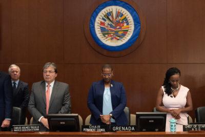 """OEA se refiere a Chile: """"Es tarea del Estado asegurar las garantías constitucionales y el orden público"""""""