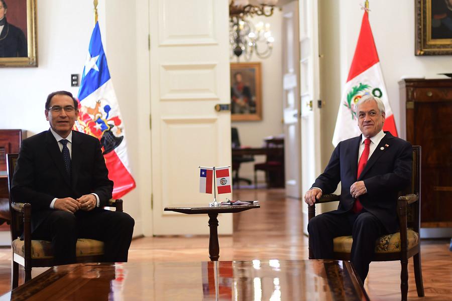 Piñera y Vizcarra entregan respaldo a Lenín Moreno por crisis en Ecuador