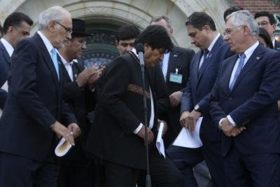 """Bolivia: OEA manifiesta su """"profunda preocupación y sorpresa"""" ante cambio drástico de escrutinio"""