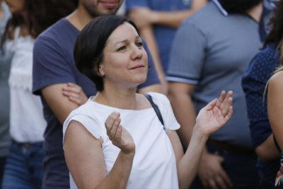 Rebelión en el Frente Amplio: Javiera Parada cuestiona acusación contra Piñera