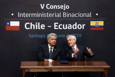 Chile reiteró su apoyo a Lenin Moreno por crisis en Ecuador