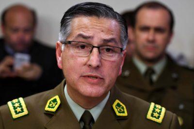 """General director de Carabineros: """"No estamos entrenados para hacer daño a la comunidad"""""""