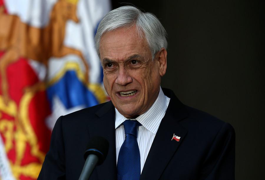 """""""Piñera por lucha contra la delincuencia:"""