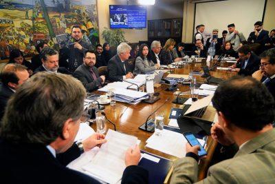 Desalojan con guardias a periodistas en Comisión de Trabajo en el Congreso