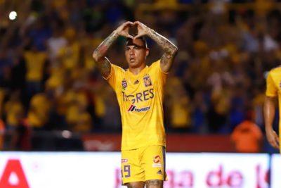 Eduardo Vargas marcó doblete en singular victoria de Tigres sobre Veracruz