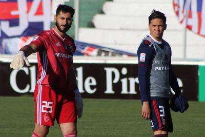 Johnny Herrera vuelve a la titularidad en el arco de U. de Chile