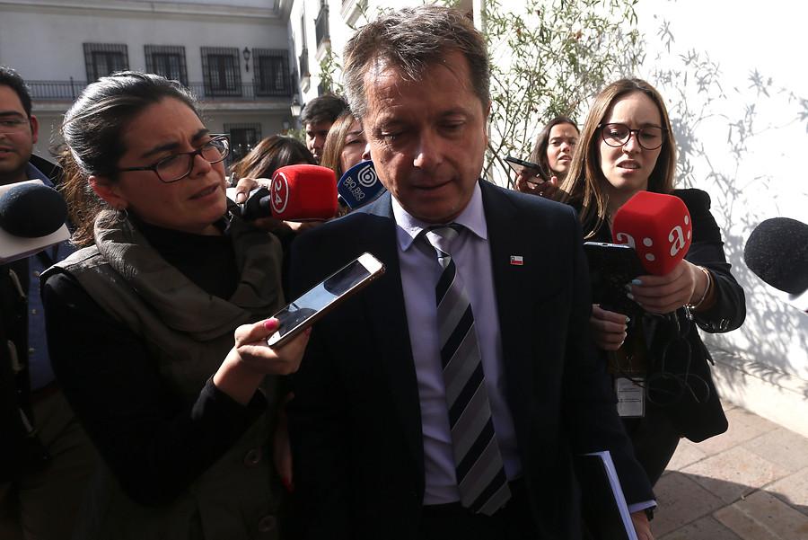 """""""Revelan el primer video del auto de Felipe Salaberry junto a un vehículo municipal"""""""