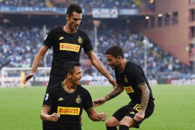 Alexis será titular por el Inter ante Barcelona en la Champions League