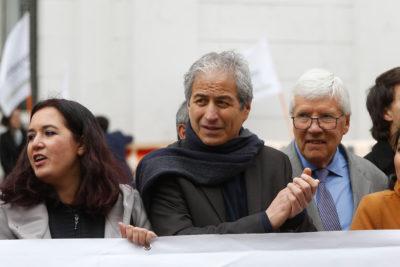"""Colegio de Profesores se pronuncia sobre protestas: """"El conflicto ya está en otro nivel, ya no es solo por el pasaje"""""""