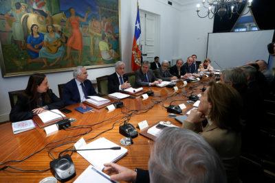 Presidente Piñera encabeza cuarto consejo de Gabinete del año