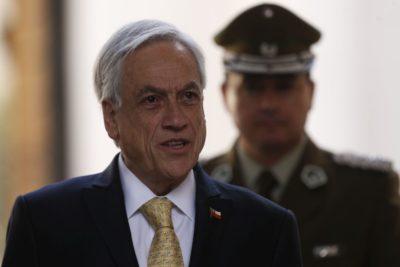 """Piñera por incidentes en el IN y evasiones masivas: """"Condeno a quienes creen que pueden protestar sin respetar la ley"""""""