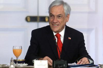 """Piñera: """"Nuestro país es un verdadero oasis con una democracia estable"""""""