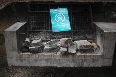 Retiran 36 parrillas para evitar incendios forestales en el Parque Metropolitano