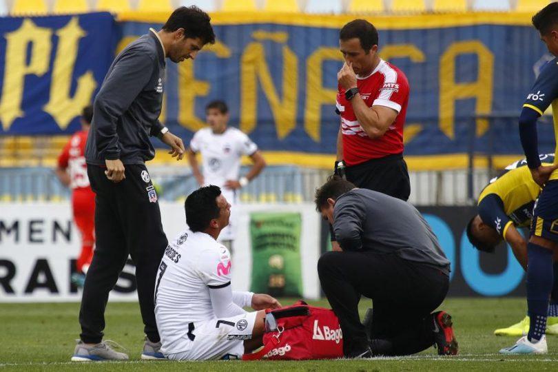 Esteban Paredes estará al menos dos semanas fuera de las canchas