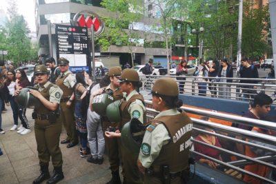 """Ministra Hutt y evasiones masivas: """"Escolares no tienen un argumento"""""""