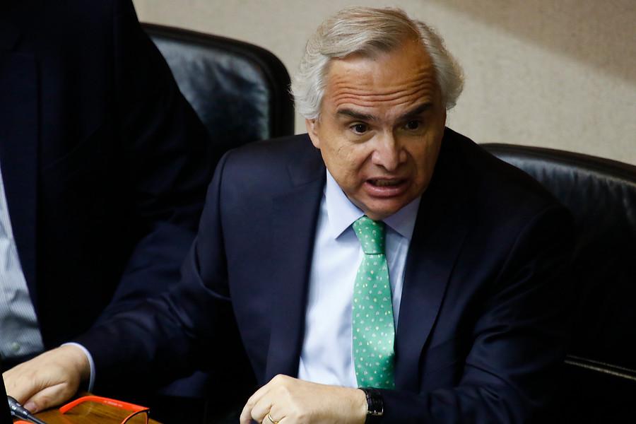 """""""DC iniciará proceso de interpelación al ministro Chadwick por índices de delincuencia"""""""