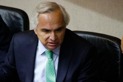 Ministro Chadwick desdramatiza eventual interpelación en su contra