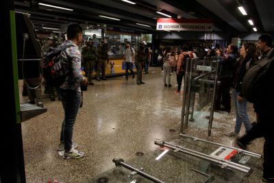 """Metro y evasiones masivas: """"Seguiremos trabajando con la misma motivación"""""""
