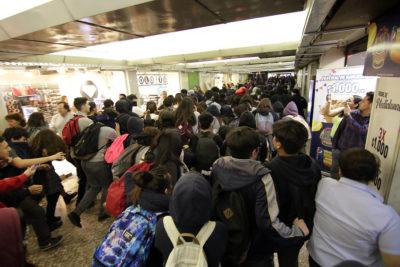 FOTOS | Sindicato del Metro denuncia agresiones y robos en estaciones