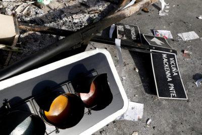 El día después del caos en Santiago