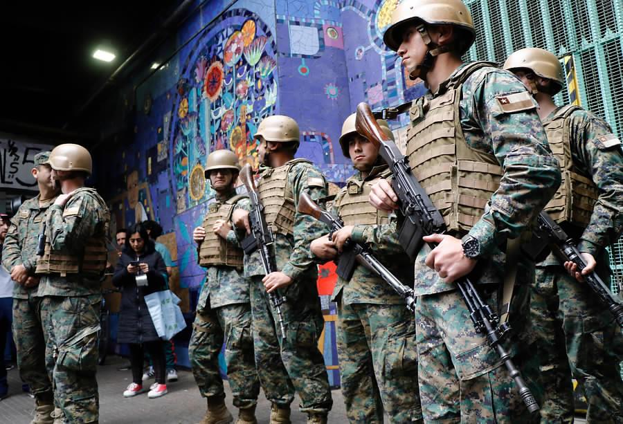 militares calle