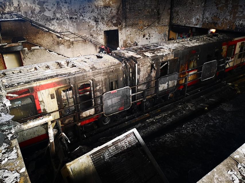 """Experto por daños en Metro: """"Hasta 7 meses podría demorar reconstrucción"""""""